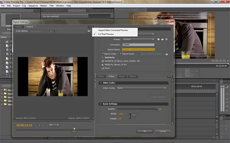 adobe premiere pro quicktime export exporting widescreen quicktime problems adobe