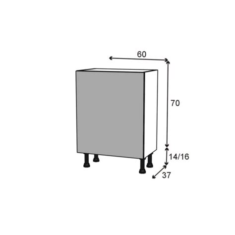 meuble range 233 pice 3 tiroirs l60xh70xp58 filipen gris oskab