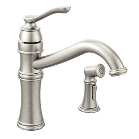clean kitchen faucet 28 images shop moen arbor chrome moen belfield single handle standard kitchen faucet with