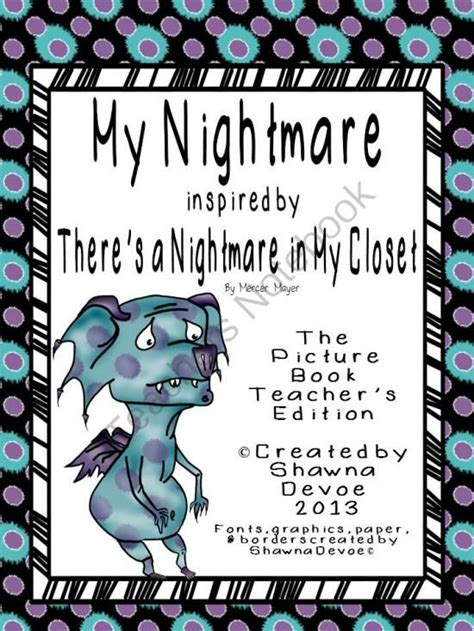 my dear nightmare books 57 best images about kindergarten writing on