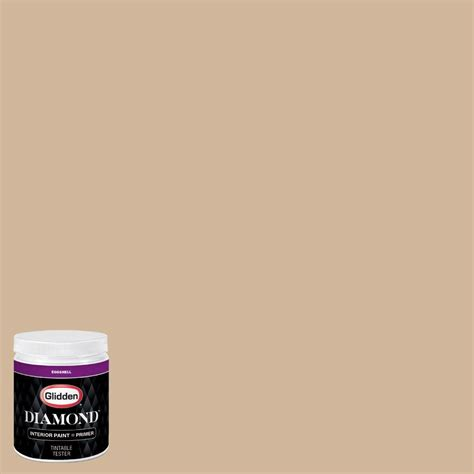 glidden 8 oz hdgwn19d bonjour beige eggshell interior paint with primer tester