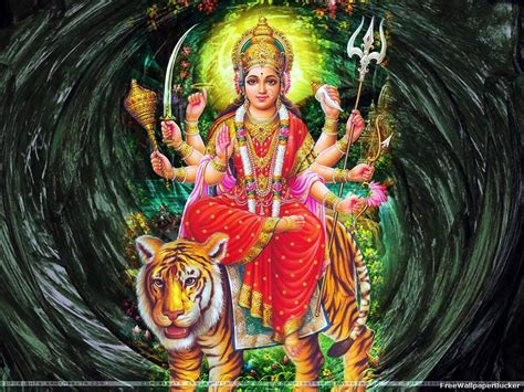 Decoration For Navratri At Home Most Beautiful Free Wallpapers Durga Mata Hindu Goddess