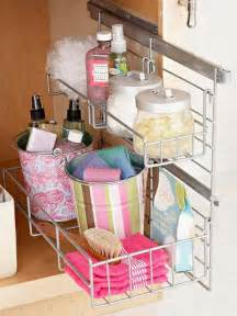 Bathroom Under Sink Storage by 30 Brilliant Diy Bathroom Storage Ideas