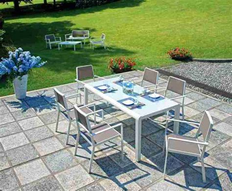 tavoli e sedie per giardino tavoli e sedie pranzo giardino