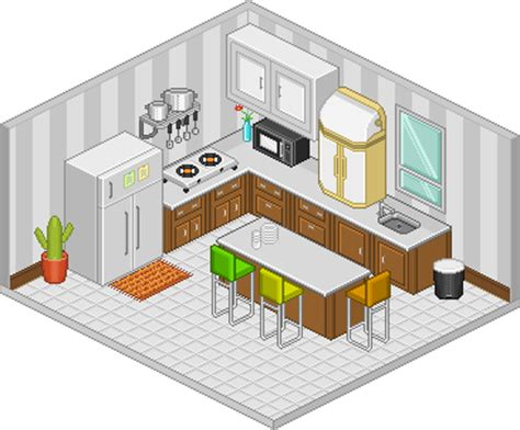 Pixel Kitchen by Pixel Kitchen By Shi Ju On Deviantart