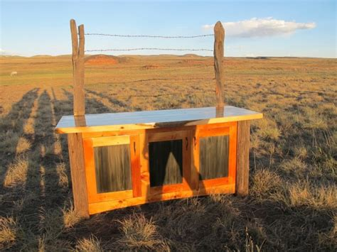 Prairie Sentinel Buffet Shadow Play Meg Thompson Custom Prairie Buffet