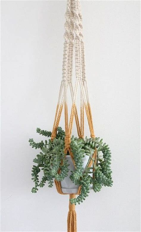 Diy Macrame Plant Holder - diy to try macram 233 planters glitter and house