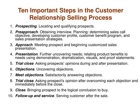 sold the of relationship sales books ppt the sales process is a sequential series of actions