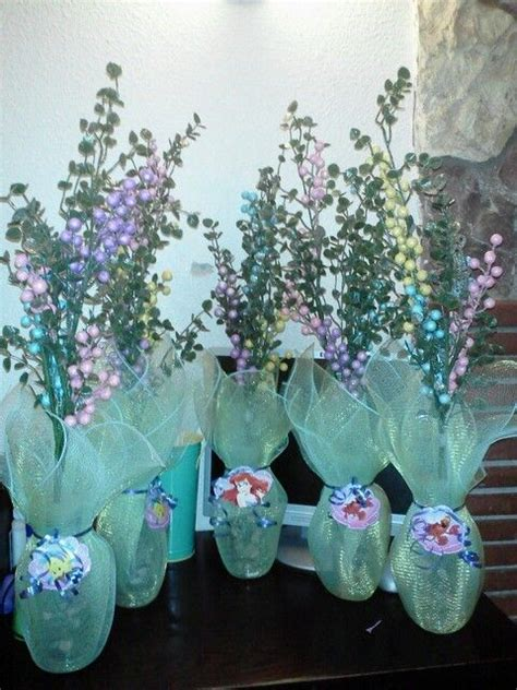 mermaid table decorations best 25 mermaid centerpieces ideas on