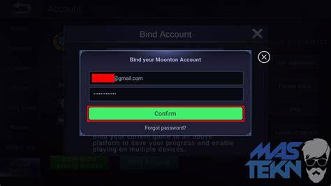email mobile legend cara membuat akun montoon moobile legends untuk bind akun ml