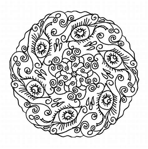 printable mandala coloring pages for adults quotes