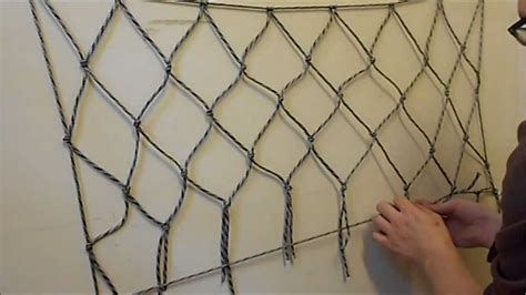 How To Make A Basketball Net Out Of Paper - how to make a net using paracord or any other cordage