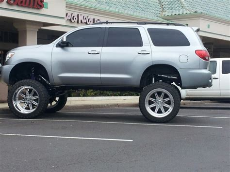 Toyota Sequoia Lifted Bad Lifted Toyota Sequoia Cars Trucks And Suvs