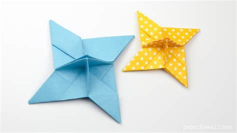 paper shuriken origami origami place card holder paper kawaii