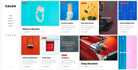 themeforest free psd download themeforest caleo blog psd template nulled free