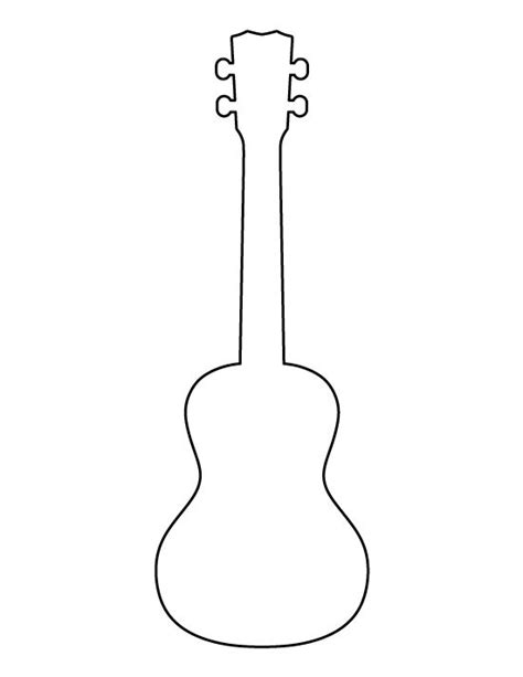 guitar template 25 best ideas about ukulele on musica