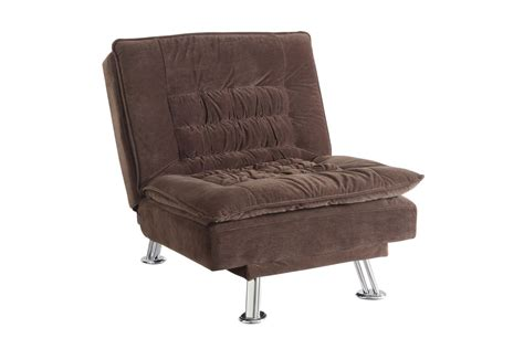 Lyell convertible chair bed 300412 at gardner white