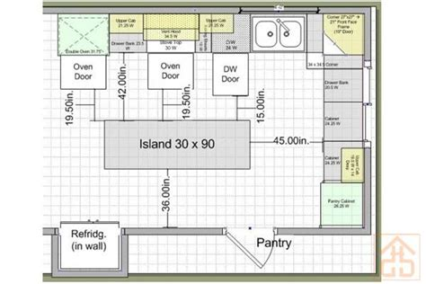 island kitchen layout best kitchen layouts purplebirdblog com