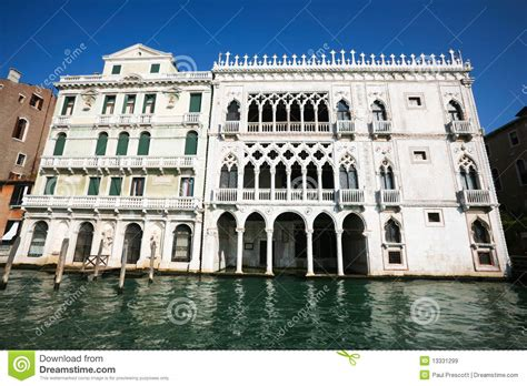 venetian architecture gothic venetian architecture stock image image of canal