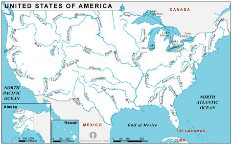 usa rivers map rivers map of usa rivers usa map