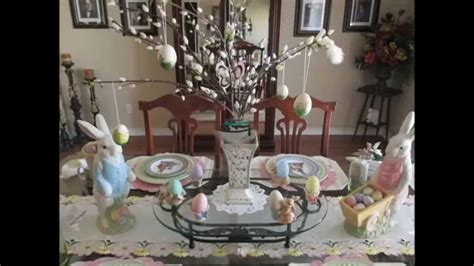 spring decorations for the home easter spring decor home tour 2015 youtube