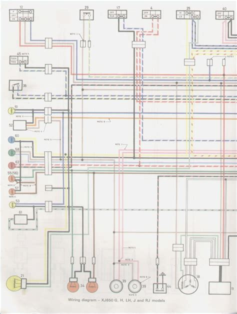 comfortable yzf 750 wiring schematic ideas electrical