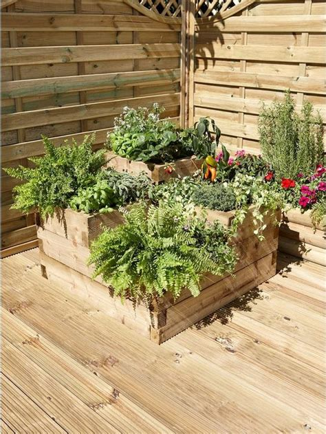raised flower bed ideas    garden