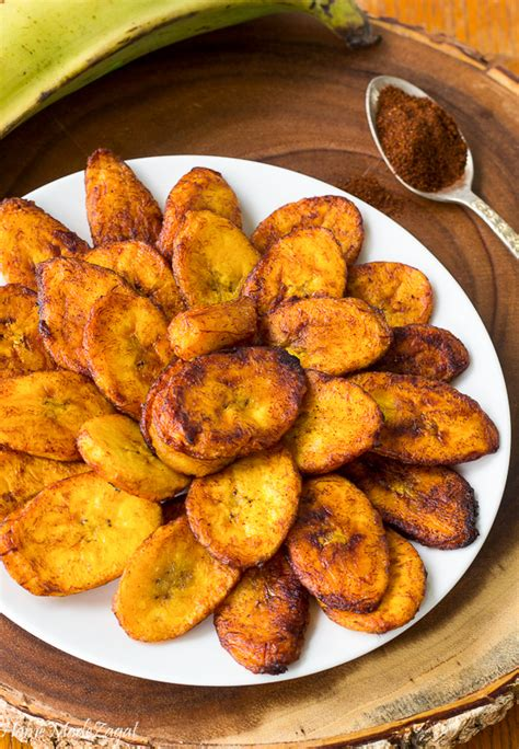 sweet and spicy fried plantain home made zagat