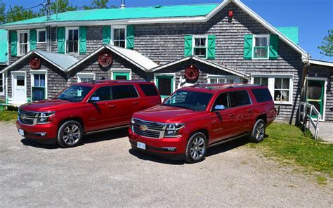 chevy suburban vs tahoe what is the difference between the 2013 suburban and the