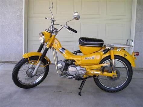 Honda Trail 90 Parts by Honda Trail Ct90 Website 187 1971 Honda Trail Ct90 Gallery