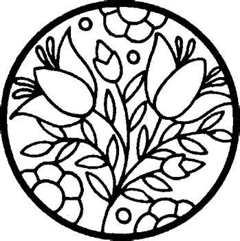 kaboose coloring pages stained glass flowers coloring page stained glass