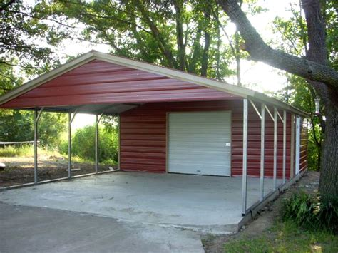 Carport With Storage by Carports Garages Winslows Inc