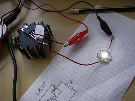 super simple high power led driver  steps instructables
