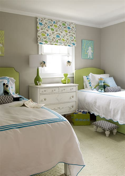green and gray bedroom green grasscloth contemporary boy s room