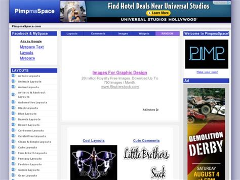 layout editor myspace search myspace layouts image search results
