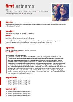 resume template generator free cv template http webdesign14
