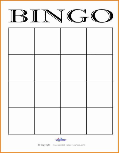 free bingo board template 4 blank bingo board cashier resume