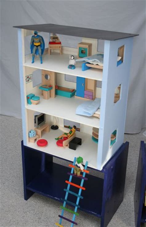 superhero house pin by eva soriano alers on dollhouse stuff pinterest