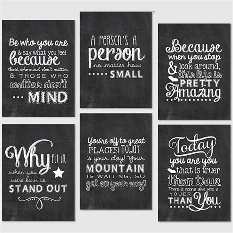 printable quotes for project life i would print and frame these and stagger them going up