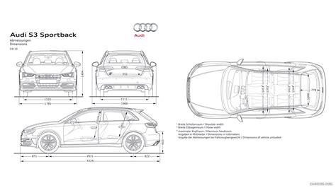 Audi S3 Dimensions by 2014 Audi S3 Sportback Dimensions Hd Wallpaper 53