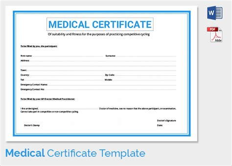 sle medical certificate 27 download documents in pdf