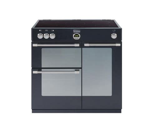 electric oven with induction hob buy stoves sterling 900ei electric induction range cooker black free delivery currys