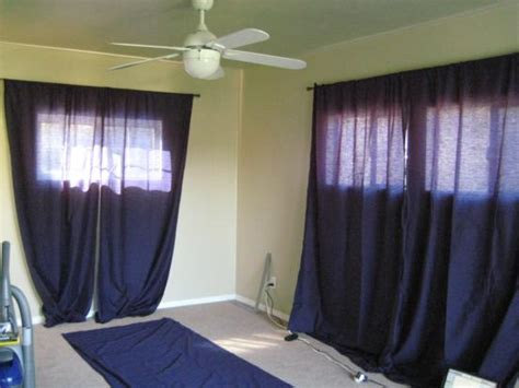using sheets as curtains sheet curtains and sloppy furniture one house one couple