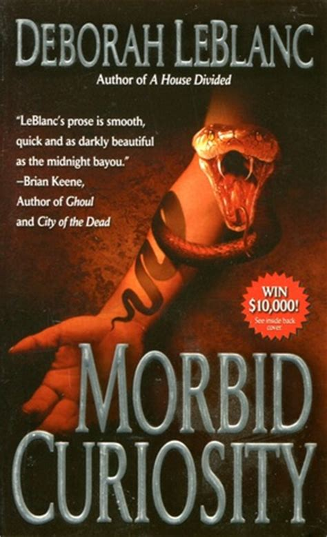 Morbid Curiosity morbid curiosity by deborah leblanc reviews discussion