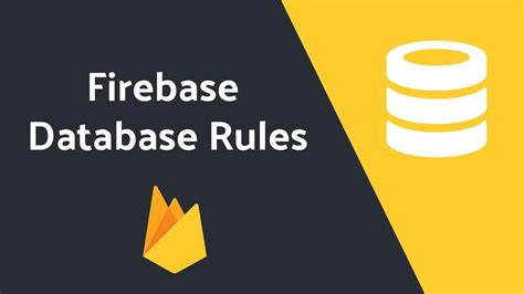 firebase data tutorial firebase database rules tutorial youtube