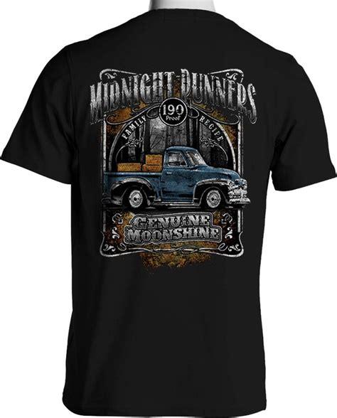 Tshirt Big Truck 1 vintage truck t shirt moonshine runner rat rod 1949 chevy