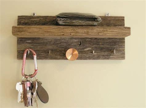 Key Hook Rack With Shelf by Diy Key Rack Diy Furniture Barn Wood