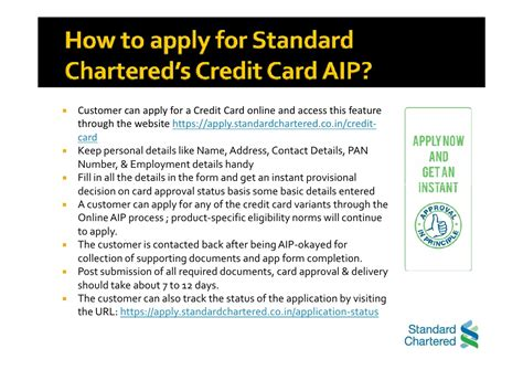 Standard Chartered Letter Of Credit standard chartered bank benefits of credit card aip