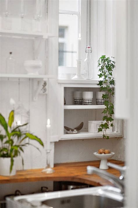 Small Kitchen Backsplash Ideas Pictures 20 sqm apartment in stockholm with scandinavian design