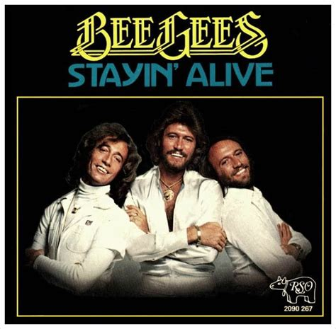 stayin alive bee gees the bee gees quot staying alive quot isolated vocals bobby